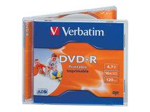 - 10 x DVD-R - 4.7 GB 16x - breite bedruckbare Fläche für Fotos - Jewel Case (Schachtel)