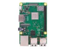3 Model B+ - Einplatinenrechner - Broadcom BCM2837B0 1.4 GHz - RAM 1 GB - 802.11a/b/g/n/ac, Bluetooth 4.2