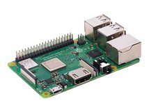 3 Model B+ - Einplatinenrechner - Broadcom BCM2837B0 1.4 GHz - RAM 1 GB - 802.11a/b/g/n/ac, Bluetooth 4.2 LE