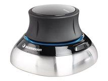 3Dconnexion SpaceMouse Wireless - 3D-Maus - 2 Tasten - kabellos, kabelgebunden - 2.4 GHz - kabelloser Empfänger (USB)