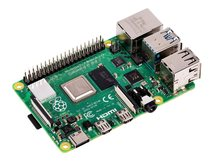 4 Model B - Einplatinenrechner - Broadcom BCM2711 1.5 GHz - RAM 4 GB - 802.11a/b/g/n/ac, Bluetooth 5.0