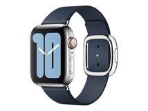 40mm Modern Buckle - Uhrarmband für Smartwatch - Größe L - Tiefseeblau - für Watch (38 mm, 40 mm)
