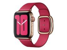 40mm Modern Buckle - Uhrarmband für Smartwatch - Größe M - himbeerfarben - für Watch (38 mm, 40 mm)