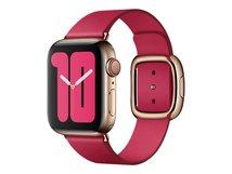 40mm Modern Buckle - Uhrarmband für Smartwatch - Größe S - himbeerfarben - für Watch (38 mm, 40 mm)