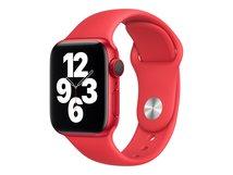 40mm Sport Band - (PRODUCT) RED - Uhrarmband für Smartwatch - Größe S/M & M/L - Rot - für Watch (38 mm, 40 mm)