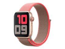 40mm Sport Loop - Uhrarmband für Smartwatch - Normal - Neon Pink - für Watch (38 mm, 40 mm)