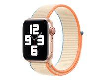 40mm Sport Loop - Uhrarmband für Smartwatch - Normalgröße - Cremefarben - für Watch (38 mm, 40 mm)