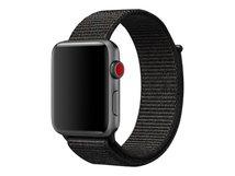 42mm Sport Loop - Uhrarmband für Smartwatch - 145 - 220 mm - Schwarz - für Watch (42 mm, 44 mm)