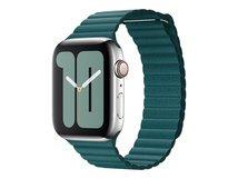 44mm Leather Loop - Uhrarmband für Smartwatch - Größe M - Peacock - für Watch (42 mm, 44 mm)