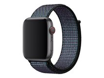 44mm Nike Sport Loop - Uhrarmband - Regulär (für Handgelenke 145 - 220 mm) - Hyper Grape - für Watch (42 mm, 44 mm)