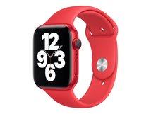 44mm Sport Band - (PRODUCT) RED - Uhrarmband für Smartwatch - Normalgröße - Rot - für Watch (42 mm, 44 mm)