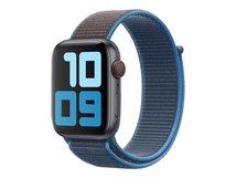 44mm Sport Loop - Uhrarmband für Smartwatch - 145-220 mm - Surf Blue - für Watch (42 mm, 44 mm)