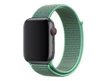 44mm Sport Loop - Uhrarmband - Regulär (für Handgelenke 145 - 220 mm) - grüne Minze - für Watch (42 mm, 44 mm)