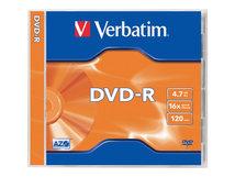 - 5 x DVD-R - 4.7 GB 16x - mattsilber - Jewel Case (Schachtel)