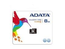 ADATA - Flash-Speicherkarte (microSDHC/SD-Adapter inbegriffen) - 8 GB - Class 4 - microSDHC