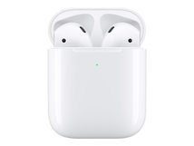 AirPods with Wireless Charging Case - 2nd Generation - True Wireless-Kopfhörer mit Mikrofon - Ohrstöpsel - Bluetooth - für Apple iPad/iPhone/iPod/TV/Watch