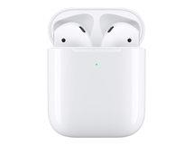 AirPods with Wireless Charging Case - 2nd Generation - True Wireless-Kopfhörer mit Mikrofon - Ohrstöpsel - Bluetooth - für iPad/iPhone/iPod/TV/Watch
