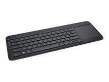All-in-One Media - Tastatur - kabellos - 2.4 GHz - Englisch (International)