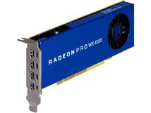 AMD Radeon Pro WX 4100 - Grafikkarten - Radeon Pro WX 4100 - 4 GB GDDR5 - PCIe 3.0 x16 Low-Profile - 4 x Mini DisplayPort