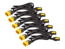 AP8000 - Stromkabel - IEC 60320 C13 bis IEC 60320 C14 - 10 A - 1.22 m - Schwarz
