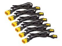 AP8000 - Stromkabel - IEC 60320 C13 bis IEC 60320 C14 - 10 A - 61 cm - Schwarz