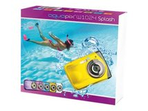 Aquapix W1024 Splash - Digitalkamera - Kompaktkamera - 10.0 MPix / 16.0 MP (interpoliert) - Unterwasser bis zu 3 m - Gelb