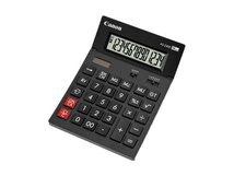 AS-2400 - Desktop-Taschenrechner - 14 Stellen - Solarpanel, Batterie - Dunkelgrau