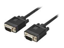 ASSMANN - VGA-Kabel - HD-15 (VGA) (M) bis HD-15 (VGA) (M) - 1.8 m - Schwarz