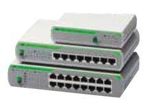 AT FS710/8E - Switch - unmanaged - 8 x 10/100 - Desktop, an Rack montierbar