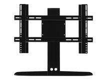 - Aufstellung für LCD TV - stranggepresstes Aluminium, Edelstahl - Schwarz - Bildschirmgröße: bis zu 165,1 cm (bis zu 65 Zoll) - Schreibtisch-Ständer