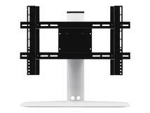 - Aufstellung für LCD TV - stranggepresstes Aluminium, Edelstahl - weiß - Bildschirmgröße: bis zu 165,1 cm (bis zu 65 Zoll) - Schreibtisch-Ständer