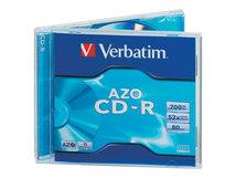 AZO Crystal - 10 x CD-R - 700 MB 52x - Jewel Case (Schachtel)