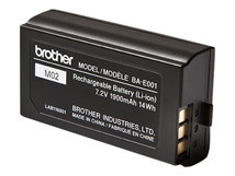 BA-E001 - Drucker-Batterie - 1 x Lithium-Ionen - für Brother PT-P750; P-Touch PT-750, E300, E500, E550, H500, H75, P750; P-Touch EDGE PT-P750