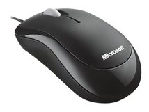 Basic Optical Mouse - Maus - rechts- und linkshändig - optisch - 3 Tasten - kabelgebunden
