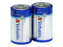 - Batterie 2 x D - Alkalisch