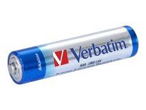 - Batterie 4 x AAA-Typ - Alkalisch