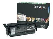 - Besonders hohe Ergiebigkeit - Schwarz - original - Tonerpatrone LCCP, LRP - für Lexmark T654dn, T654dtn, T654n