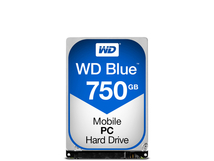 WD Blue Mobile 750GB HDD SATA6Gb/s 9,5mm