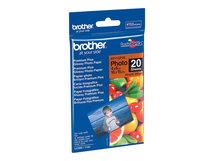 BP - Glänzend - 100 x 150 mm 20 Blatt Fotopapier - für Brother DCP-J1140, J1200, T310, T720, MFC-J1010, J4335, J4340