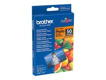 BP - Glänzend - 100 x 150 mm 50 Blatt Fotopapier - für Brother DCP-J4120, J772, J774, J785, MFC-J2720, J4625, J6530, J6930, J880, J890, J895