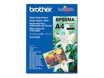 BP60MA Matte Inkjet Paper - Matt - A4 (210 x 297 mm) - 145 g/m² - 25 Blatt Papier - für Brother DCP-J582, J982, T310, HL-J6000, MFC-J1605, J6583, J6983, J6999, J738, J877, J998