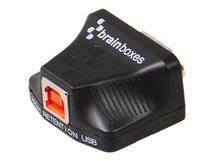 Brainboxes US-320 - Serieller Adapter - USB - RS-232/485 x 1