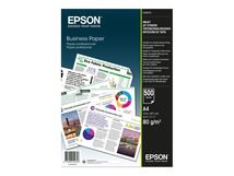 Business Paper - A4 (210 x 297 mm) - 80 g/m² - 500 Blatt Normalpapier - für EcoTank ET-16500, 2650, 2751, 2756; Expression Photo XP-970; Expression Premium XP-540