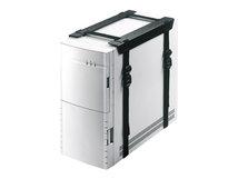 by Newstar CPU-D025 - Befestigungskit (CPU-Halterung) (fest) - Schwarz - unter dem Schreibtisch