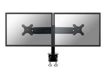 """by Newstar FPMA-D700D - Befestigungskit - für 2 LCD-Displays (full-motion) - Schwarz - Bildschirmgröße: 48.3-76.2 cm (19""""-30"""") - Klemmmontage, Tischmontage"""