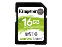 Canvas Select - Flash-Speicherkarte - 16 GB - UHS-I U1 / Class10 - SDHC UHS-I