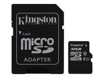 Canvas Select - Flash-Speicherkarte (microSDHC/SD-Adapter inbegriffen) - 32 GB - UHS Class 1 / Class10 - microSDHC UHS-I