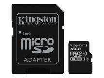 Canvas Select - Flash-Speicherkarte (microSDXC-an-SD-Adapter inbegriffen) - 16 GB - UHS-I U1 / Class10 - microSDHC UHS-I