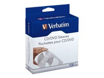 - CD-/DVD-Hülle - Kapazität: 1 CD/DVD (Packung mit 100)