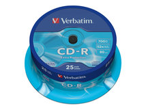 CD-R Extra Protection - 25 x CD-R - 700 MB 52x - Spindel